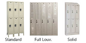 Warehouse Locker Types