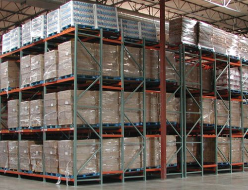 High Density Storage: Push Back Pallet Rack