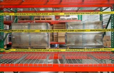 Warehouse Rack Safety Strap