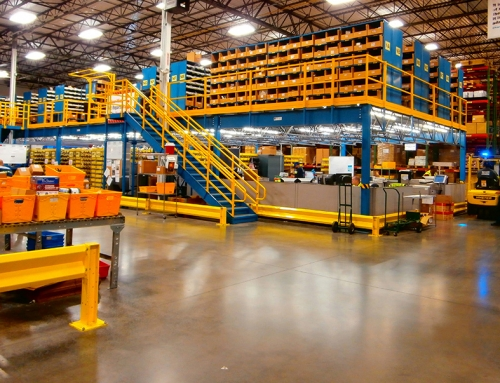 4 Mezzanines to Improve Warehouse Storage Space