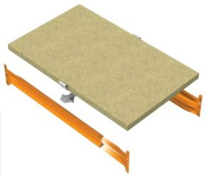 Wide Span Particle Board Shelf