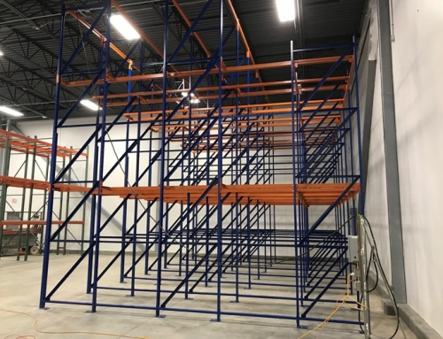 Pallet Rack System for Bakery Company