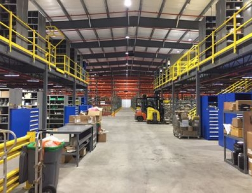 Large Utility Company Warehouse Design & Installation