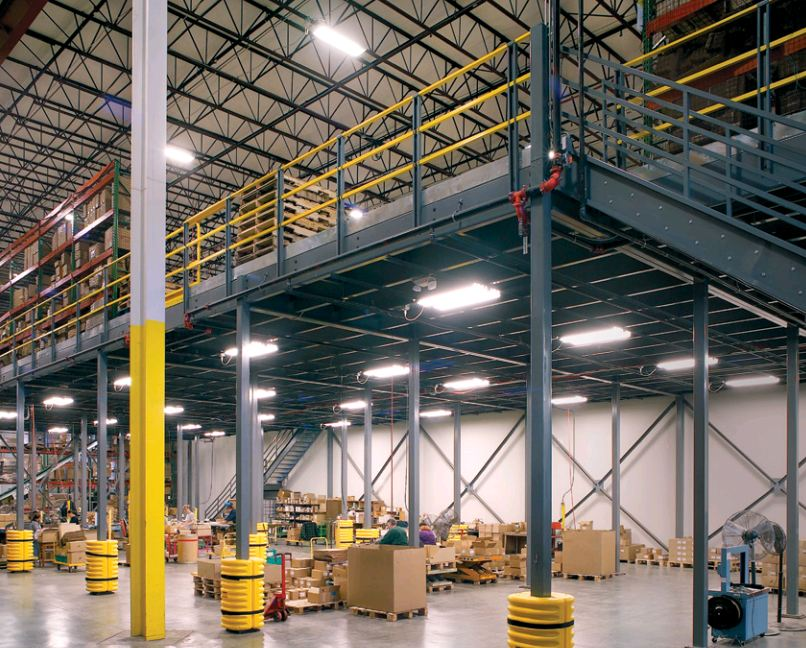 The Benefits of a Mezzanine in Your Warehouse - Stein