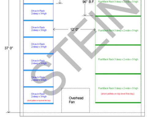 Pallet Rack System for Food Service Provider