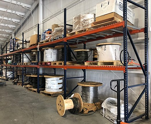 Warehouse Storage Systems for Electrical Distributor
