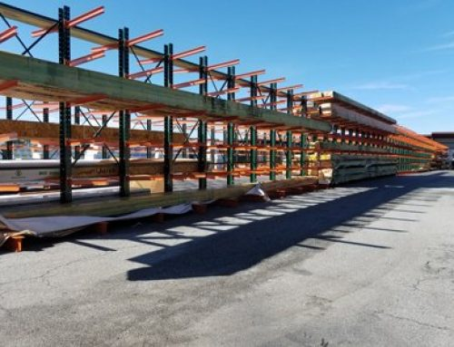 Rack Installation for Building Material Distributor